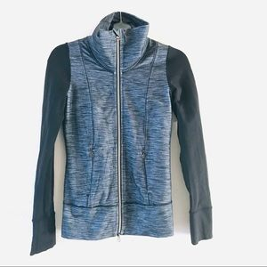 Lululemon Athleisure Color Block Zip up Jacket